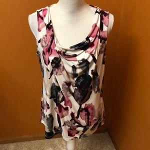 Ivanka dressy top.  Size L.